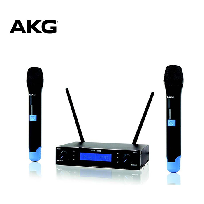 AKG KM200 Dual Wireless Microphone UHF