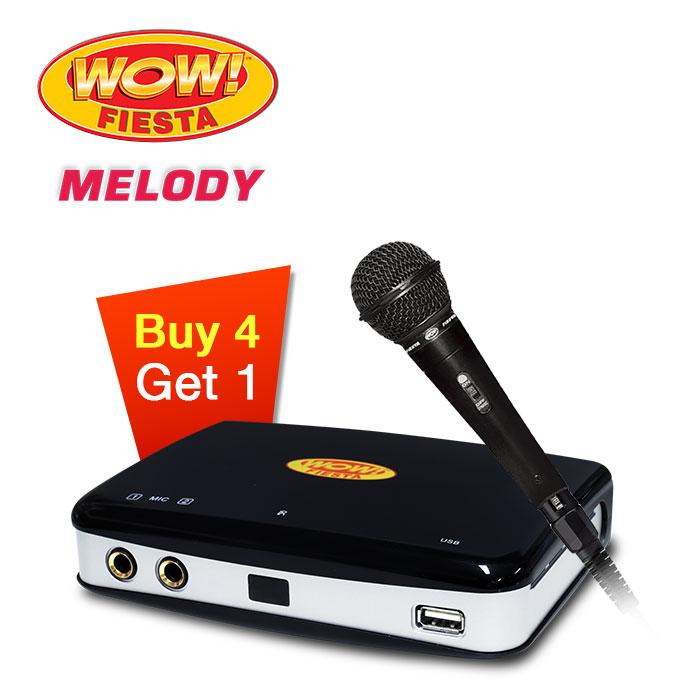 4 + 1 WOW! Fiesta Melody