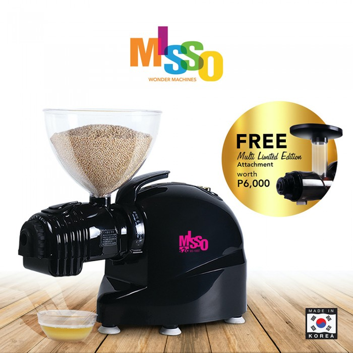 Misso s2o Seed-To-Oil Wonder Extractor