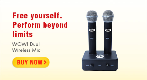 WOW! Dual Wireless MIcs