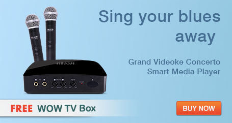 GRAND VIDEOKE Concerto Smart Mediaplayer