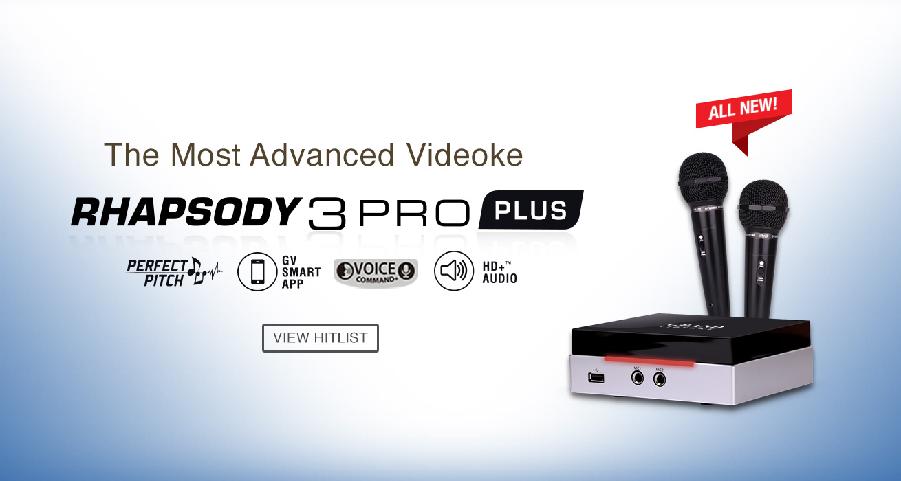 All New Grand Videoke Rhapsody 3 Plus